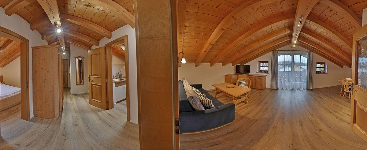Entspannte Urlaubstage in einer Ferienwohnung im Landhaus Tannenhof genießen