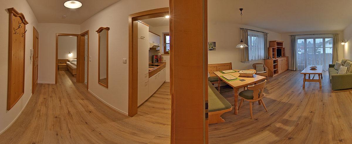 gemütliche Ferienwohnung Nr. 1 im Landhaus Tannenhof